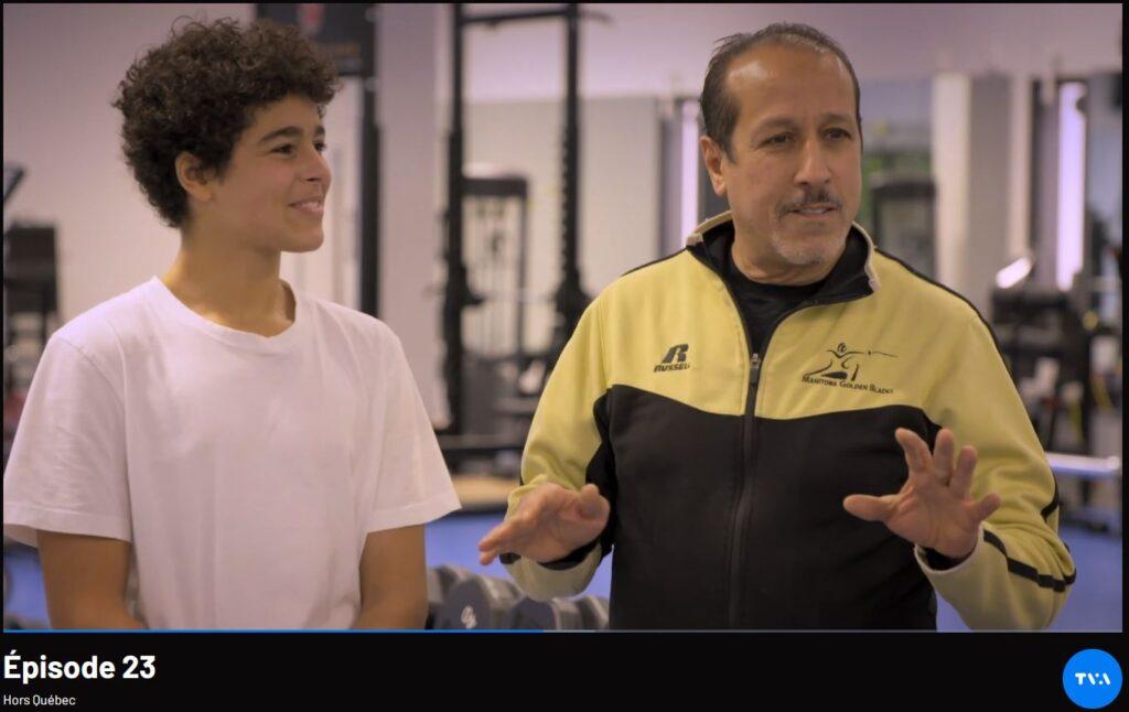 Hors Quebec TV Showcases Manitoba Fencing
